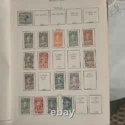 Belgian Congo Stamp Collection in very old tired but vintage album 1875 to 1971