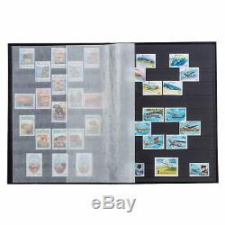 Blue Stamp Collection Album Leuchtturm 314718 DIN A4 Stamp Collection StockBook