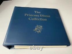 Bob4stampsprincess Diana Stamp Collection Lot Of 2 Albums Mnh 1997 & 1981 Mint