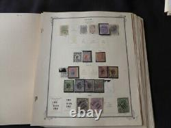 Brazil 1843-1961 Stamp Collection on Scott International Album Pages