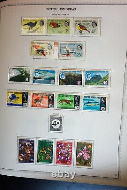 British America Early Mint Stamp Collection 1800's to 1960's in Minkus Album