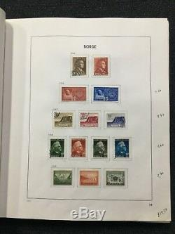 CA12 Norway 1855 1995 Used Collection in Davo Illustrated Album