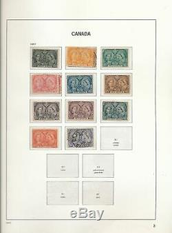 CANADA 1851/1969 M&U Davo Printed Hingeless Album Collection(400+)GM27