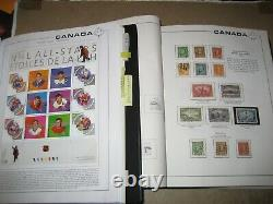 CANADA 1851-2006 2 Scott Master Albums Used+Mint w. BOB+Provinces Collection