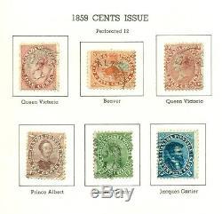 CANADA COLLECTION 1851 1975 in Minkus Specialized Album Scott cat $3,400.00+
