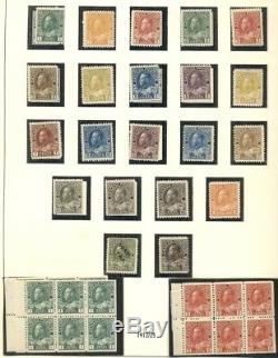 CANADA COLLECTION 1851-1989, All mint, earlies withng, two albums, Scott $42,474