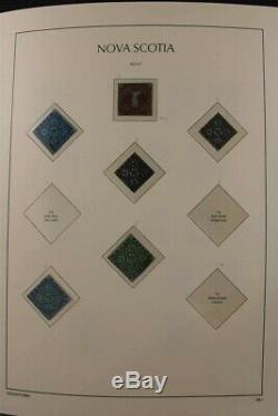 CANADA Provinces to 2010 / 5 Luxus 470+ Pages Album Jubilee Set Stamp Collection