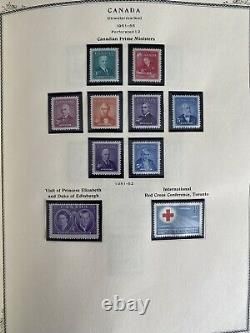 CANADA STAMP COLLECTION 1851-1996 on a NPSAC Album WithPages Up To 1996 VF & MNH
