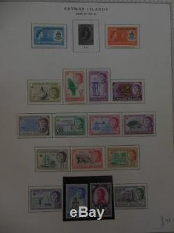 CAYMAN ISLANDS Beautiful Very Fine Mint collection on album pages. SG Cat £532