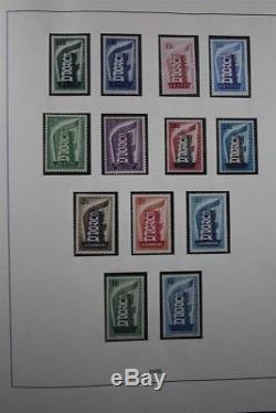 CEPT Europe Europa MNH 1956-2004 Premium 5 Lindner Album Stamp Collection