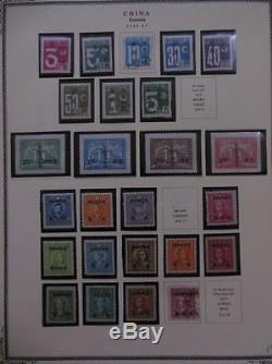 CHINA Formosa. Nice Mint & Used collection on album pages