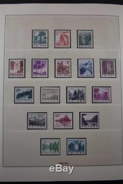 CHINA PRC MNH 1981-2013 Premium Stamp Collection Luxus 5 Lindner Albums