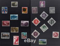 COLLECTION of JAPAN STAMPS from 1962 to 1966 in an ALBUM