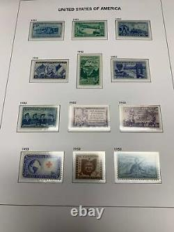 COMPLETE 1945-2019 U. S. STAMP COLLECTION in 10 NEW DAVO LUXE ALBUMS Amazing Set