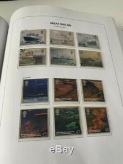 COMPLETE QEII USED COLLECTION 1952-2015. 5 pristine davo albums