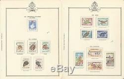 Cambodia & Laos 1957-1968 Stamp Collection in Minkus Specialty Album