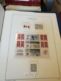 Canada MNH Collection in KABE (Ka-Be) Stamp Album 2006-2009