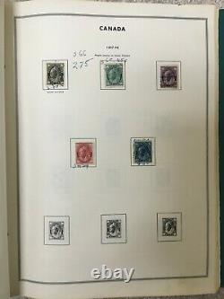 Canada Stamp Collection to 1978 with BOB in a Harris Album (see description!)