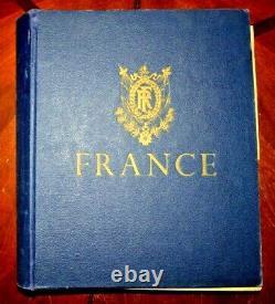 CatalinaStamps France Stamp Collection in Minkus 1960 Album, 1173 Stamps, D176