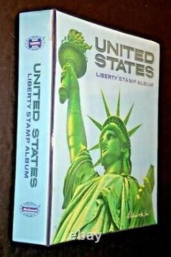 CatalinaStamps US Stamp Collection in Harris Liberty Album, 1338 Stamps, #D430