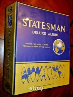 CatalinaStamps Worldwide Stamp Collection in Statesman Album, 4147 Stamps, D314