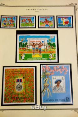 Cayman Islands Mint Stamp Collection in Scott Album