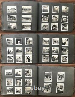 China Old Large Photo Album Peking Shanhaikwan 54 Pages 288 Photos