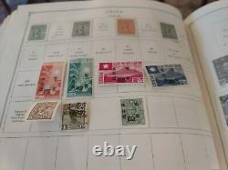 China stamp collection from Scott international album 1897 forward. View photos