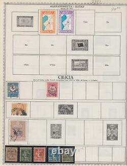 Cilicia Old Interesting Collection On Album Pages Z399