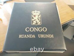 Classic Collection Belgium België Congo + Areas In Davo Album Free Postage