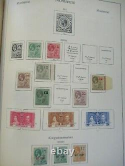 Classic Overseas Collection World In Old Ka-be Album Including Many Better Items