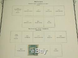 Clean Mexico Scott Specialty Stamp Album 1861-1968 Collection Lot withUsed, BOB ++