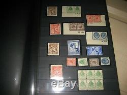 Collection 1924-1974 WEMBLEY PUC WEDDING PLAIN & PHOS COMMEM STAMP +album