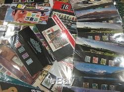 Collection 335 Presentation Pack 1984-2011 Fv Stamps £1000.00 + 5 Albums