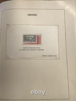 Collection Andorre en album DAVO 1931/2007 cote + de 4600