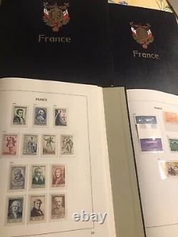 Collection France 1849/2000 En 4 Albums DAVO Luxe Quasi Complet Cote + De 21000