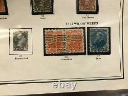 Collection In Album QV Large Queens To 1976 Incl Better, High CV, 99-Cent Start