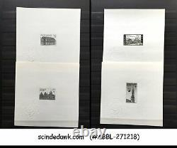 Collection Of Belgium 1964-66 Ministerial Proof In An Album
