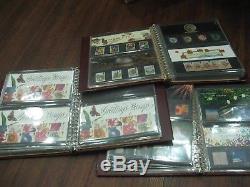 Collection Presentation Packs 1989- 2000 Fv£300+ Commemoratives 3 Albums