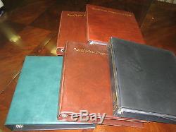 Collection Presentation Packs 1990 2012 Fv£1122.00 Commemoratives +5 Albums