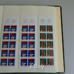 Collection carnets de timbres de France neuf dans un album élégant Lindner, SU