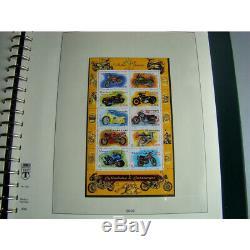 Collection de timbres de France neuf 2002-2003 dans un album Lindner SUP