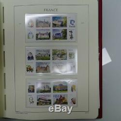Collection de timbres de France neufs 2012 dans album lux Leuchtturm, SUP