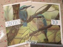 Collection of 2010 Australian Post Year Book Album with Stamps Deluxe Edition