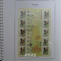 Collection timbres de France 2005-2006 neufs complet en album, SUP