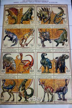 Comoro Islands Enormous Mint Stamp Collection in Scott Album