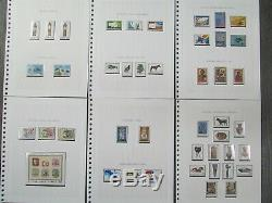 Cyprus Mint Stamp Album Collection (1960 to 1981) SG203 580 Almost Complete