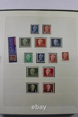 DDR Germany Deutschland MNH 1949-1990 PREMIUM 6 Album SAFE Stamp Collection