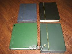 DEFINITIVE STAMP COLLECTION & REGIONAL & BOOKLETS & MIN SHEETS FV£1300+ 4 ALBUMs
