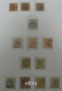 DENMARK COLLECTION 1851-2012 in two Stender Hingeless Albums, Scott $22,249
